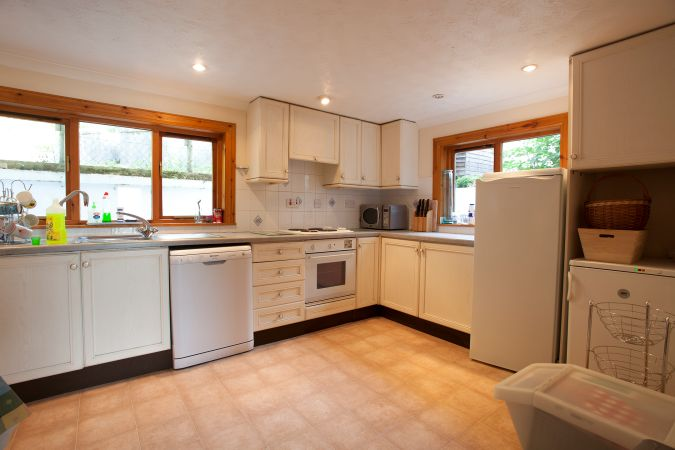 Duart Cottage, Lochcarron, has a spacious and well appointed kitchen/breakfast room. In addition, there is also a separate dining room.