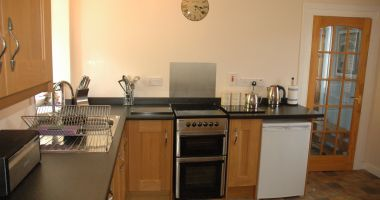 Bruaich Cottage has a well equipped modern kitchen/dining room.