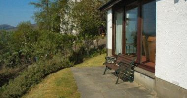 Struan has a pleasant garden with a patio area from which there are sea views across Loch Carron.