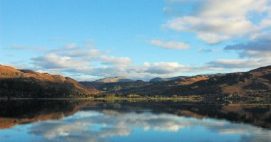 A view across Loch Carron looking towards Attadale.
