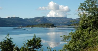 Lochcarron is a popular location for boating, sailing and kayaking.